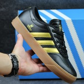 Кроссовки Adidas adi-ease universal ADV black gold