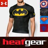бомбезная компрессионная майка футболка от Under Armour c технологией Heatgear,p.M