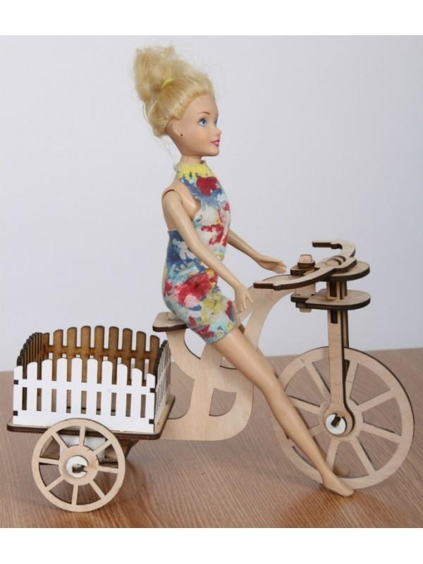 Велосипед для куклы барби своими руками