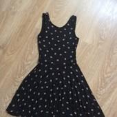 Сарафан,платье принт xs-s