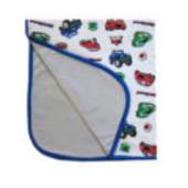 Трикотажная пеленка-одеяльце для новорождённых от More Kids