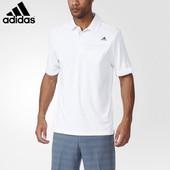 Футболка-поло белая Adidas originals eur L / XL хлопок для носки на выпуск