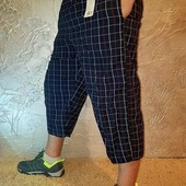 Капри мужские бриджи с сетчатой подкладкой
