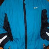 Фирменная оригинал спортивная курточка мастерка Nike хл-2хл .