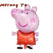 Надувная Свинка Пеппа, 81×48 см