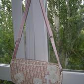 Dior сумка розовая