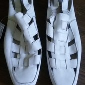 Мужские сандалии , кожа ..размер 44, 29.5 см по стельке