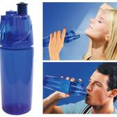 Бутылка спортивная для воды с опрыскивателем