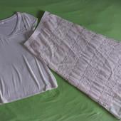 Фирменные комплект, модная юбка макси и футболка из США