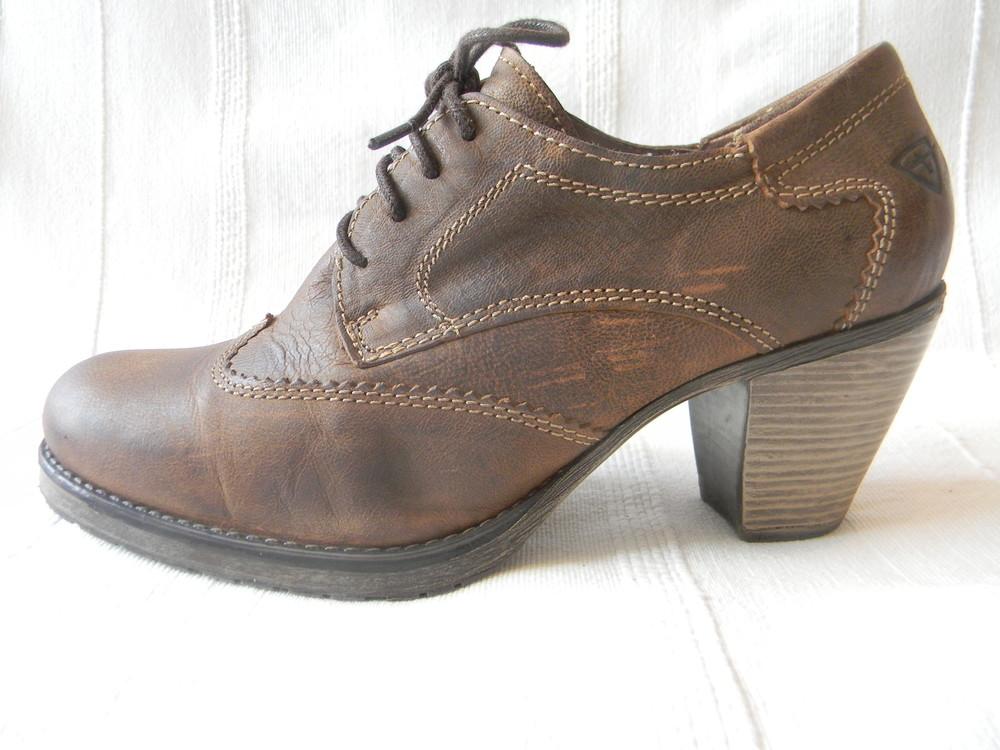 f4f5ad53a Кожаные туфли tamaris р.38 дл.ст 25см, цена 295 грн - купить Туфли ...