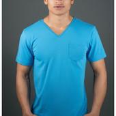 Мужская футболка Жерар с кармашиком в расцветках 46,48,50,52,54,56,58 (4