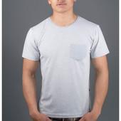Мужская футболка Жерар2 с кармашиком в расцветках 46,48,50,52,54,56,58 (4
