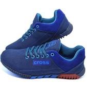 Распродажа!!! Кроссовки мужские Cross Fit 39 синие