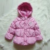 Шикарная демисезонная куртка для девочки. Размер 12 месяцев. Состояние: новой вещи