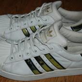Кожаные кроссовки Adidas 41 р хорошее состояние