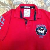 Качественная футболка, рубашка поло, р-р 52-54 , бренд Next, отличное состояние