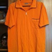 Яркая футболка, рубашка поло р-р 48-50, идеальное состояние