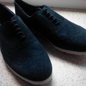 Мужские замшевые туфли лоферы Watsons р. 44 стелька 30 см. Германия