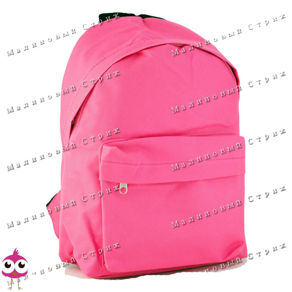 Молодежный рюкзак pink sv-10, 30х22х10см, наружный карман, уплотненная спинка, детский рюкзак фото №1