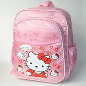 Детский рюкзак для девочек hello kitty нежно розовый new style 2769