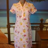 Платье льняное в цветочный принт р.8-10 Merser&Madison