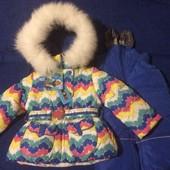 Распродажа. Зимний костюм для девочки Donilo 80р.