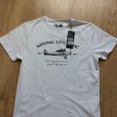 Новая фирменная мужская футболка р.L