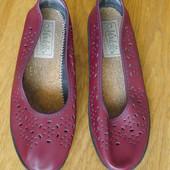 Туфлі шкіряні розмір 41 стелька 25,8 см Modelle