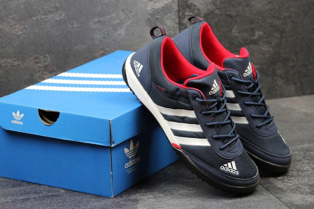 Кроссовки мужские Adidas Daroga Blue red фото №1