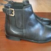 Отличные кожаные ботинки topshop