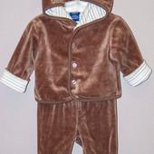 Костюм курточка + ползунки 0-3 мес. Authentic*