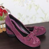 40 25,5см cotton traders замшевые мокасины туфли