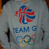 Фирменний стильний спортивний батник реглан Team Group олимпиская зб Британии .хл-2хл .