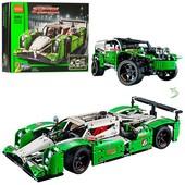 конструктор decool 3364 гоночная машина 2в1 24 hours race car (аналог lego technic 42039)