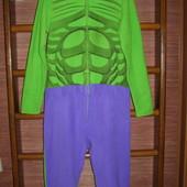 Пижама флисовая, размер S,рост до 170 см