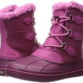 Crocs Boot красивые ботинки на зиму 9с зимние кроксы