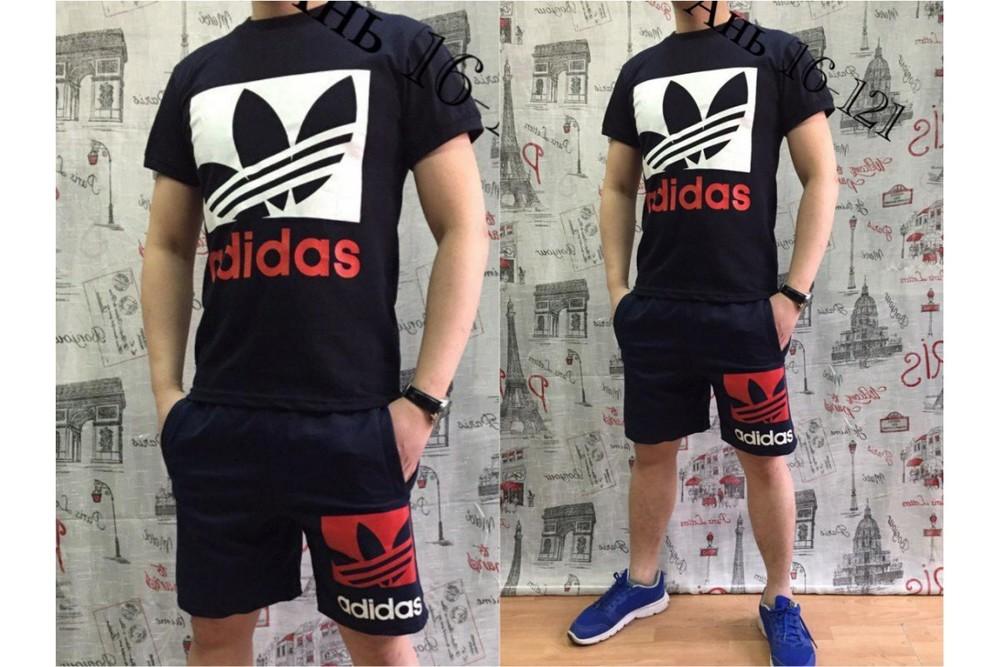 "Летний мужской костюм ""Adidas"" 46,48,50,52 (2с фото №1"