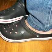 Кроксы мужские прогресс. размеры в нал 44 черные