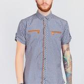 Рубашка мужская с коротким рукавом повседневная 3 цвета