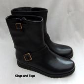 Clarks Minx Trish новые кожаные сапоги размер 37, 38. 5, 39. 5, 40