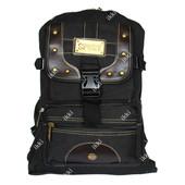 Тканевый рюкзак для мужчин черного цвета (121098ч)