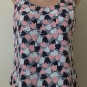 Красивая блуза с принтом