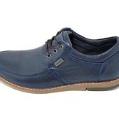 Распродажа!!! Мокасины мужские Multi-Shoes Vik Flax синие