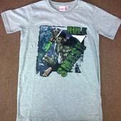 Распродажа! всего 130 грн! Хлопковая серая футболка, германия, takko, рост 146-152. высокое качество