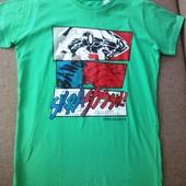 Распродажа! всего 130 грн! Хлопковая футболка, германия, takko, рост 170-176 . высокое качество