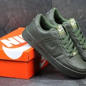 Кроссовки мужские Nike Air Force Dark green 42р