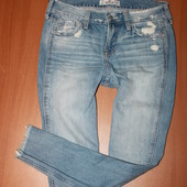 крутые джинсы  Hollister размер 25 ( 26)