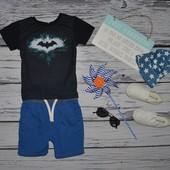 1 - 2 года 92 см крутая фирменная футболочка футболка Бэтмен Batman бетмен Америка