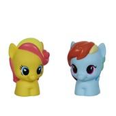 Набор пони Рэйнбоу Дэш и подружка my little pony playskool hasbro