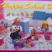 Набор мебели для кукол Школа Gloria Happy School day